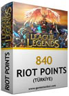 840 LOL Riot Points TR