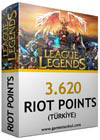 3620 LOL Riot Points TR